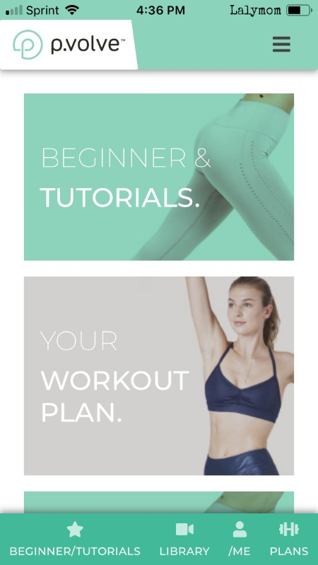 PVOLVE Workouts based on physical therapy and rehabilitation #exercise #workout #workoutapp #fitness #affiliate