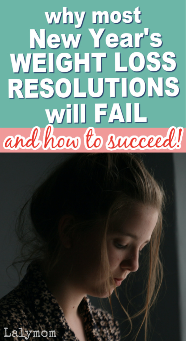 Why do most New Years resolutions about weight loss fail?