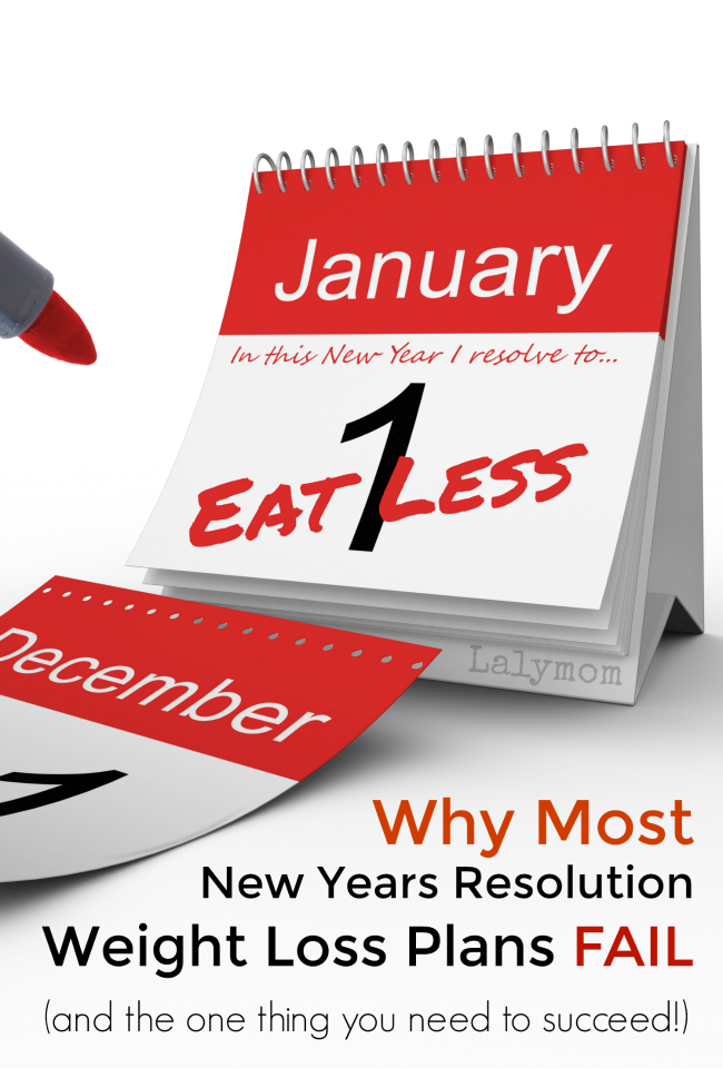 Why Most New Years Resolution Weight Loss Plans Fail (and the one thing you need to break the cycle!)