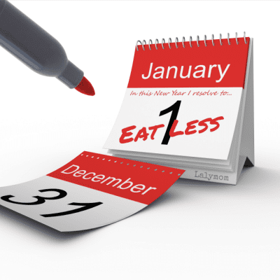 Why New Year Resolutions to Lose Weight often fail