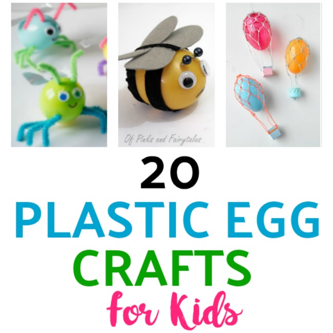 21 Egg Mazing Plastic Easter Egg Crafts For Kids Lalymom