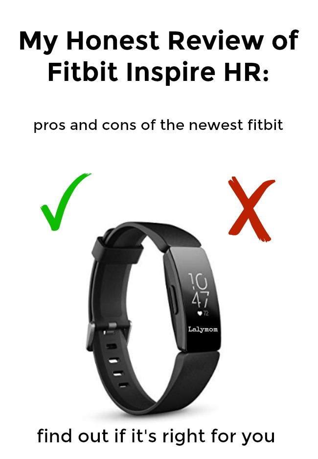 Fitbit Inspire HR Review - Find out the pros, cons and best features of the newest affordable fitness tracker #fitbit #fitness #running #exercise #walking