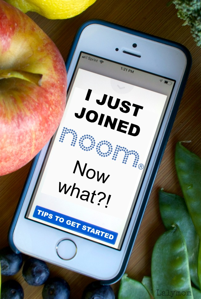 I just joined Noom Weight Loss App, Now what! Tips to get started for your first week and beyond. #noom #healthy #diet