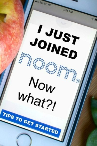 New noom user Read these tips.