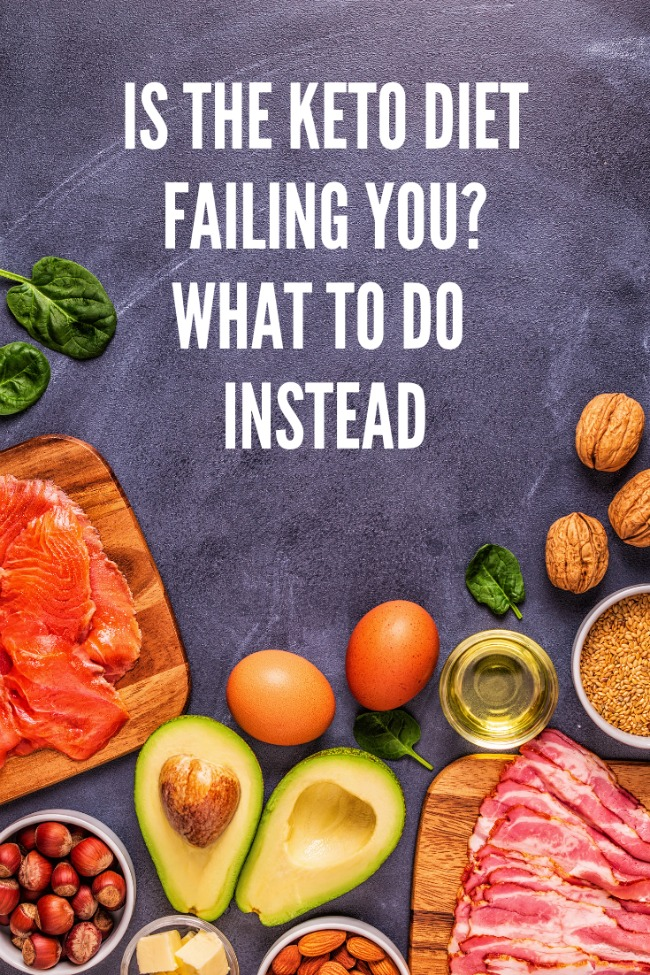 If you've been following the keto diet and not seeing the results you want, read this. #healthy #ad #cleaneating
