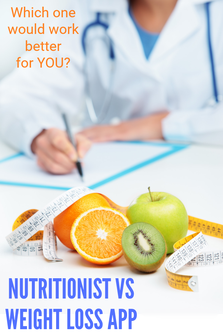 Nutritionist vs Weight Loss App- which one is better for long term lifestyle change? #ad #healthylifestyle
