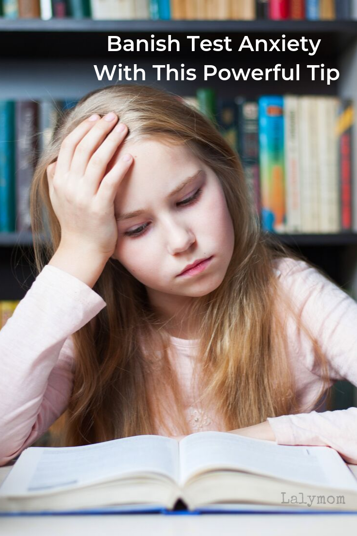Tip for a Child with Test Anxiety