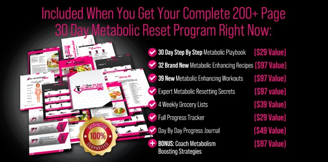 LadyBoss Metabolic Reset Program - What does it include?