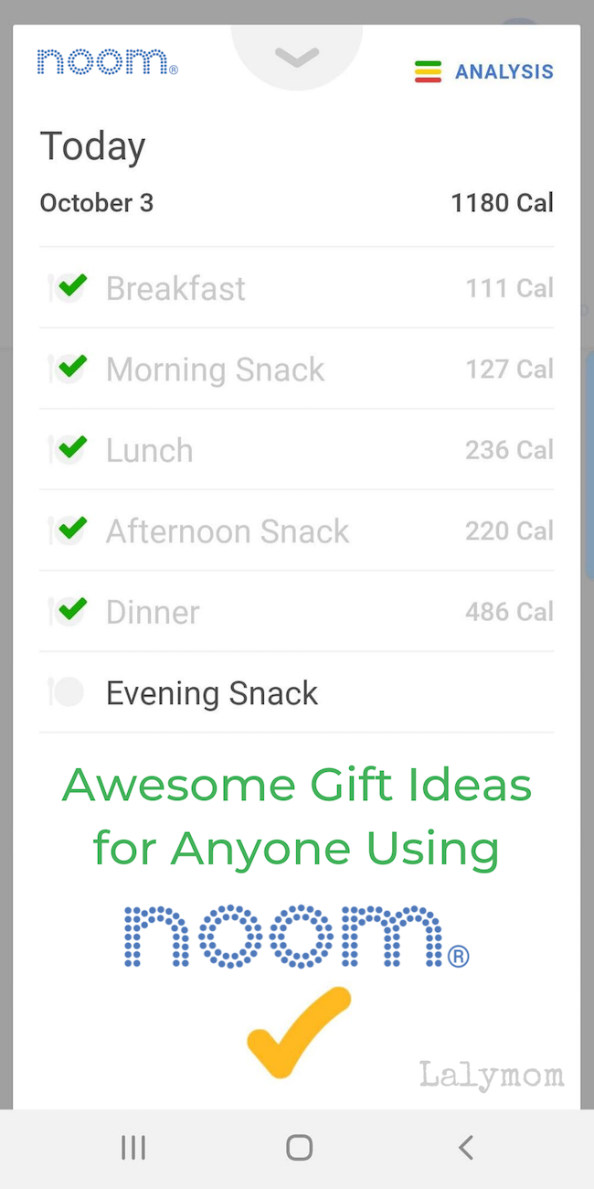 My Favorite Gifts and Tools for Noom Users #Noom #Healthy