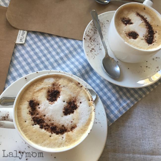 Breakfast Drinks at Fonte Bertusi Tuscan Vacation Rental