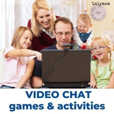 Super Fun Video Chat Games and Activities for Kids
