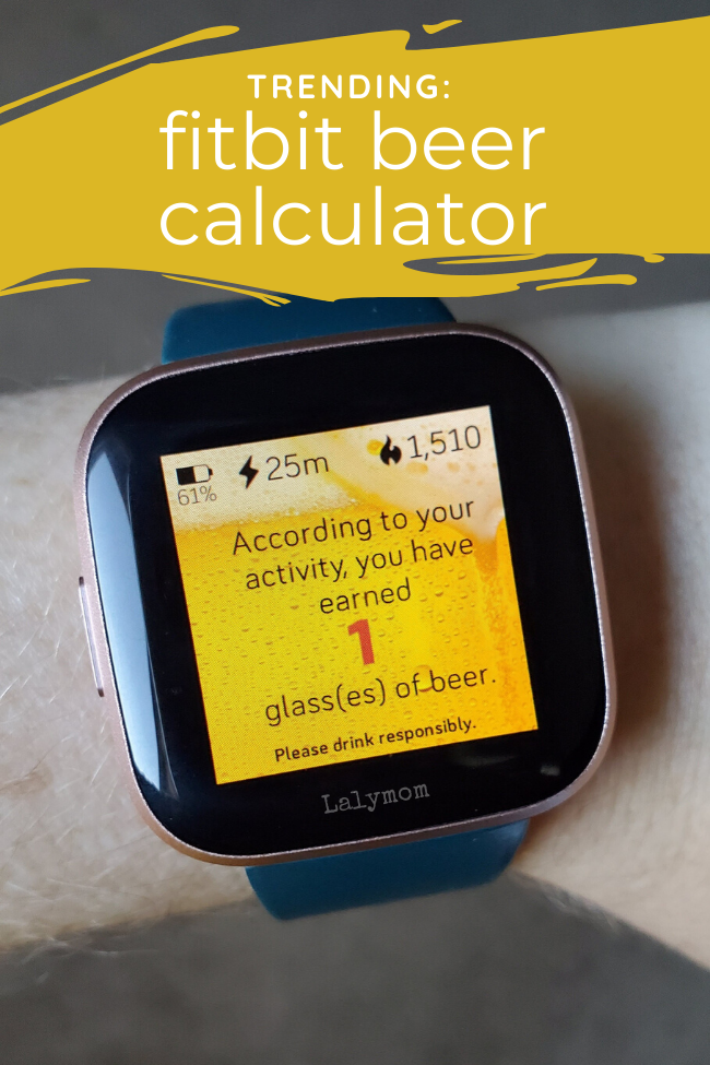 Fitbit wine calculator, find out if it works on your fitbit and how to set it up. (1)