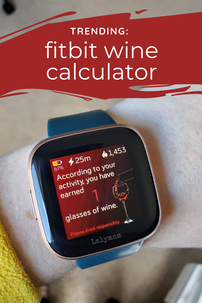 Fitbit wine calculator, find out if it works on your fitbit and how to set it up.
