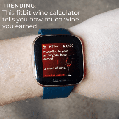 See how to get this Fitbit wine calculator that tells you how much wine you earned. Find out if it works on your fitbit and how to set it up.