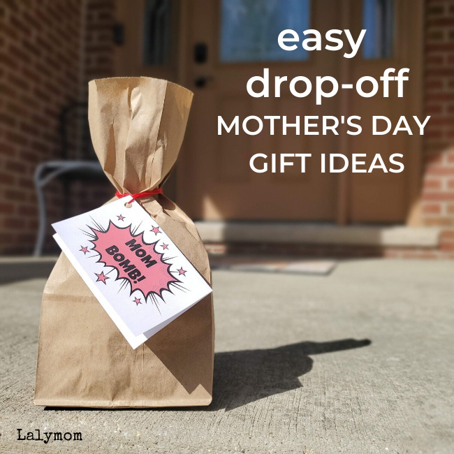 Easy, Drop-Off Mother's Day Gift Ideas – [Plus Free Printable Gift Tags]