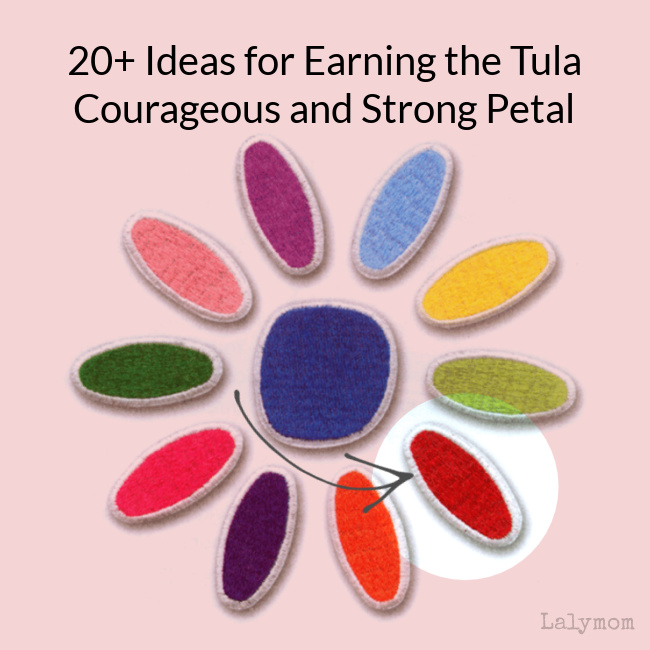 20+ Daisy Girl Scout Tula Petal Ideas (Courageous and Strong Patch)