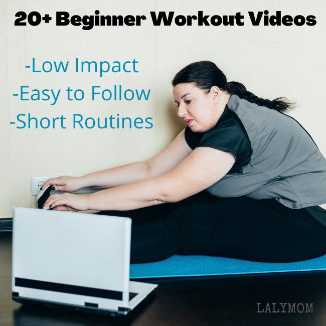 Watching a Beginner Workout Video, 20+ Options